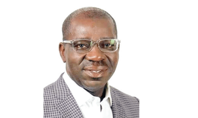 Obaseki, Pinnick attend funeral mass for former NFF Vice President, Obaseki