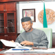 In support of Osinbajo as Acting President