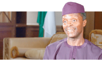 Democracy Day: Osinbajo interacts with traders in Abuja market