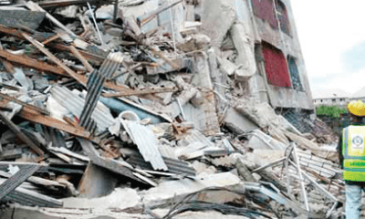 Abuja building collapse: Rescuers return to site, discover body