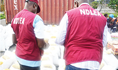 NDLEA finds 340m Tramadol tablets in containers