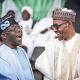 Again, Tinubu meets Buhari in Aso Rock