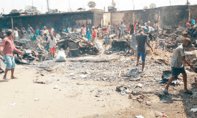 Traders weep as fire guts Calabar's biggest market