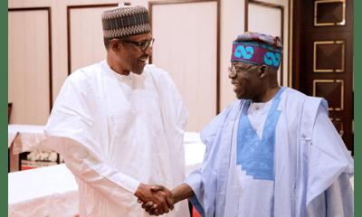 JUST IN: Tinubu, Buhari in closed door meeting