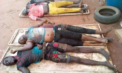 (PHOTOS)Popular kidnap gang killed in Delta state