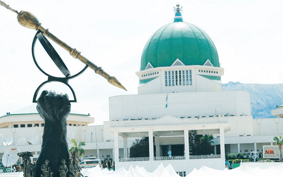 Security operatives cordon off N'Assembly complex
