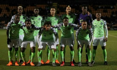 FIFA rankings: Nigeria now fourth in Africa, retains world 44th place