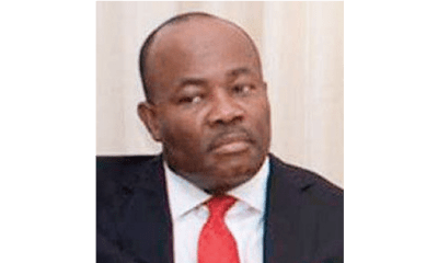 Akpabio blasts bishop for scolding wife
