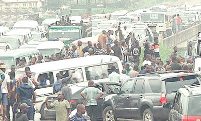 Lagos-Ibadan  Expressway traffic of hell