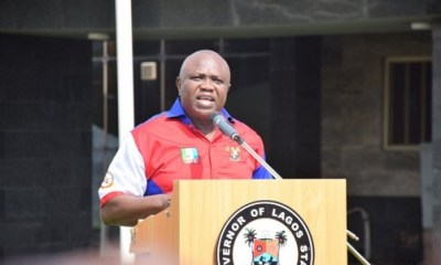 Ambode: Tinubu's candidate arrested in U.S. for spending fake dollars