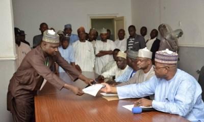 Bauchi governor receives APC Presidential Primaries results
