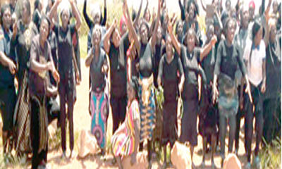 Plateau women in throes of war