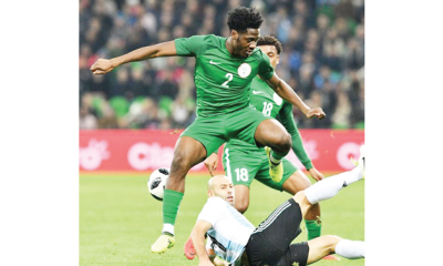 British-born Eagles star, Aina: Missing the World Cup in Russia was difficult to take