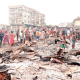 Traders weep as inferno guts 150 shops