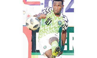 Playing for Nigeria is dream come true – Chukwueze