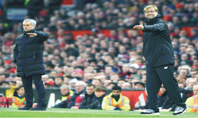 Pragmatic Mourinho out to frustrate Klopp at Anfield
