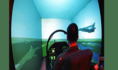 Much ado about aircraft simulator