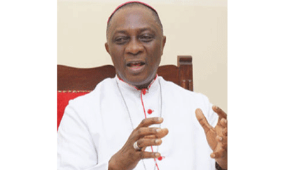 I'm worried about rising rate of suicide among our youths –Catholic Archbishop