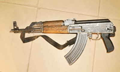 Police bust gun factory, recover arms