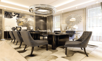 Exotic dinning space decor ideas