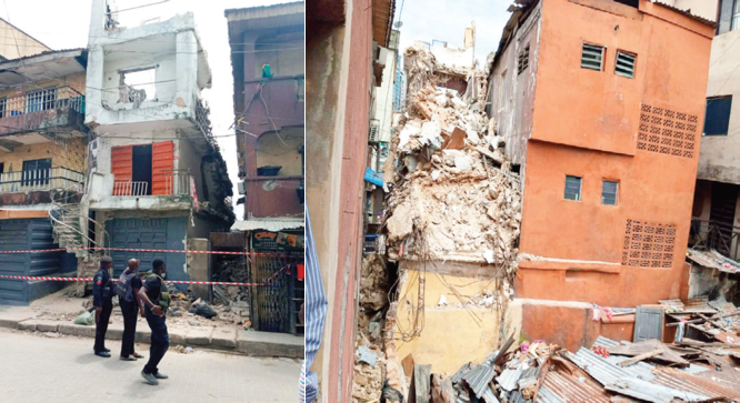 Update: Four-year-old twin dead, two injured as another building collapses in Lagos