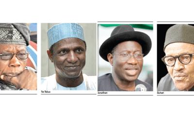 1999-2019: How Nigeria's presidents've emerged