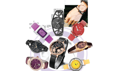 ACCESSORIES TO LIVE FOR:  Pamper your wrist TIPS with sexy fancy watches