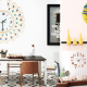 Wall clock adds a whimsical touch to interiors