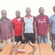 Six arrested for demolishing building at gunpoint