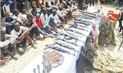 We received training in Libya, say kidnappers