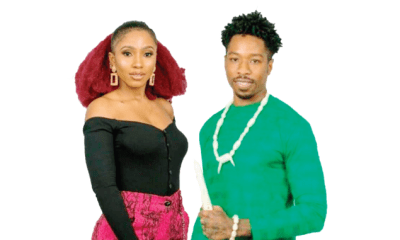 BBNaija: Ike and Mercy caught romancing in the toilet
