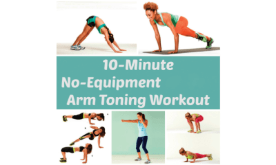 Equipment-free exercises for sexy arms (1)