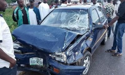 Nigerian comedian, Klint Da Drunk, survives car crash
