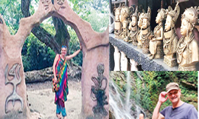 Dragoman tourists glow in Nigeria's rich offerings