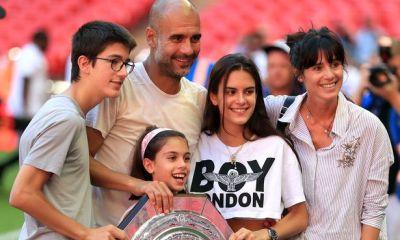 Pep Guardiola's wife returns to Spain