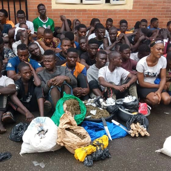 71 suspects arrested as Lagosians lament increasing cultism, robbery cases