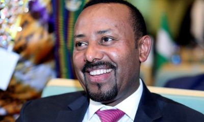 Ethiopia PM, Abiy Ahmed, wins 2019 Nobel Peace Prize
