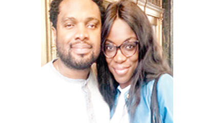 I discovered my son's blindness four months after birth – Cobhams Asuquo's wife