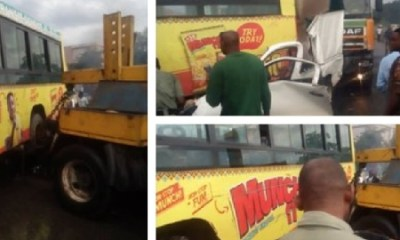 JUST IN: Multiple accident grounds traffic on Otedola Bridge, many trapped — LATSMA