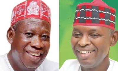 JUST IN: Court of Appeal begins hearing Ganduje/Abba's case