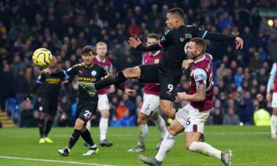 EPL: Jesus hits brace in City win, as 10-man Palace beat Bournemouth
