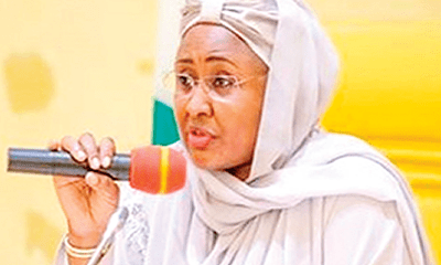 My husband's ministers must sit up – Aisha Buhari