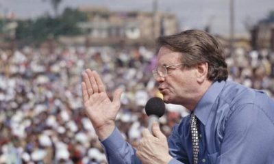 Popular televangelist Reinhard Bonnke is dead