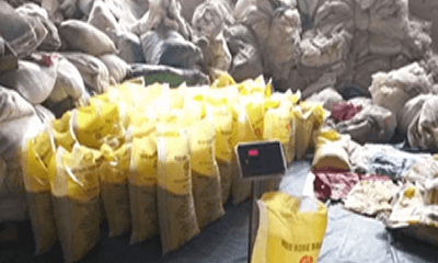 Christmas rush: Controversy over Nigerian rice re-bagging