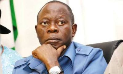 Edo APC rally: Oshiomhole arrives Benin amidst tight security
