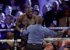 Wilder handed six-week suspension after Fury defeat
