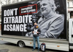 Facing extradition, whistleblower Assange returns to spotlight