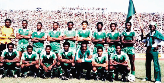 The 1980 1980 AFCON WINNERS