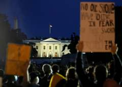 Report: Trump taken to bunker as protests over George Floyd raged outside White House