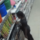 CCTV: Footage Of 9-year-old girl Setting Prince Ebeano Supermarket On Fire